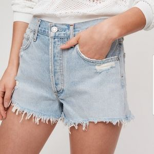 Agolde Parker shorts from Aritzia size 26